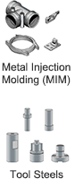 Metal Injection Molding (MIM)  Tool Steels